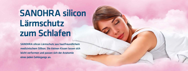 Sanohra silicon Ohrstöpsel zum Schlafen