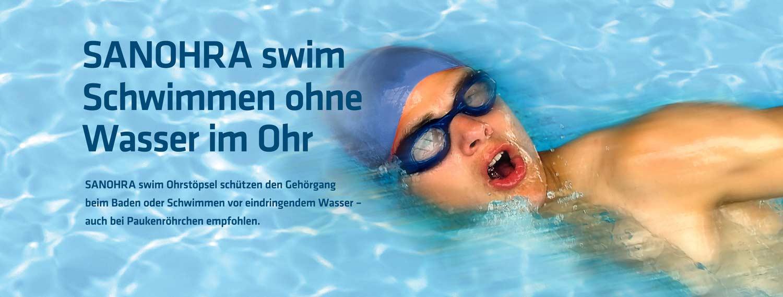 Sanohra swim Ohrstöpsel zum Schwimmen