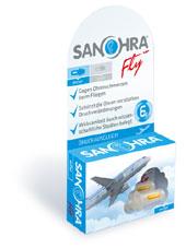 SANOHRA fly Ohrstöpsel für Flugpassagiere
